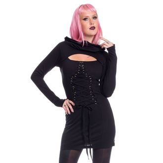 Dress Women's Poizen Industries - LAST FAITH - BLACK, POIZEN INDUSTRIES