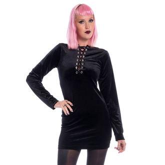 Women's dress CHEMICAL BLACK - LEAH - BLACK, CHEMICAL BLACK
