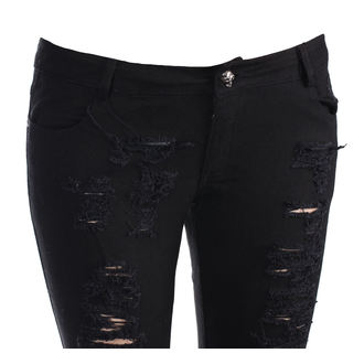 Women's pants (jeans) PUNK RAVE - Destroyer - K-134