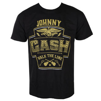 t-shirt metal men's Johnny Cash - LABEL - LIVE NATION, LIVE NATION, Johnny Cash