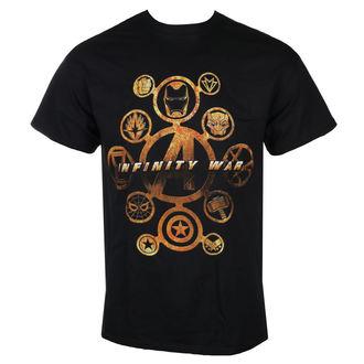 film t-shirt men's Avengers - INFINITY WAR - LIVE NATION, LIVE NATION, Avengers
