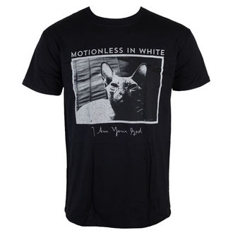 t-shirt metal men's Motionless in White - Cat - LIVE NATION, LIVE NATION, Motionless in White
