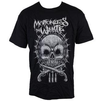 t-shirt metal men's Motionless in White - Skull - LIVE NATION, LIVE NATION, Motionless in White