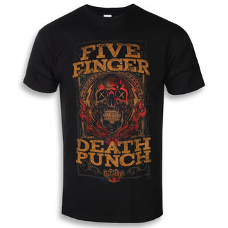 t-shirt metal men's Five Finger Death Punch - Wanted - ROCK OFF, ROCK OFF, Five Finger Death Punch