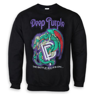 sweatshirt (no hood) men's Deep Purple - Battle Rages - LOW FREQUENCY, LOW FREQUENCY, Deep Purple