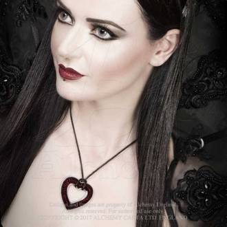 Necklace ALCHEMY GOTHIC - Love Over Death, ALCHEMY GOTHIC