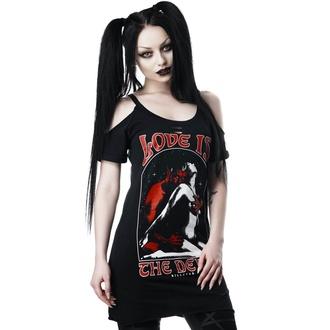 t-shirt women's - Love Devil - KILLSTAR - KSRA001209