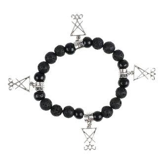 Bracelet Luciferothica - black & silver, LUCIFEROTHICA