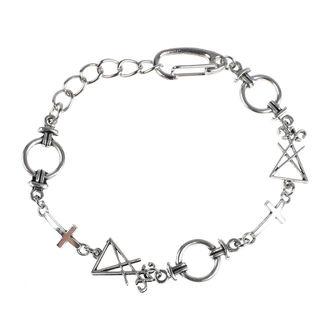 Bracelet LUCIFEROTHICA - Luciferian - inverted cross, LUCIFEROTHICA
