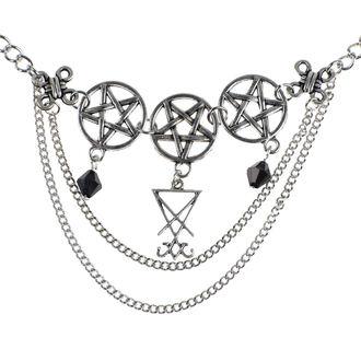 Necklace Luciferothica - Luciferian Choker, LUCIFEROTHICA