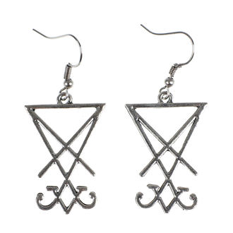 Earrings Luciferothica - Sigil of Lucifer, LUCIFEROTHICA