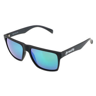 Sunglasses MEATFLY - TRIGGER D 4/17/55 - BLACK GREEN, MEATFLY
