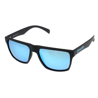 Sunglasses MEATFLY - TRIGGER A 4/17/55 - BLACK / BLUE, MEATFLY