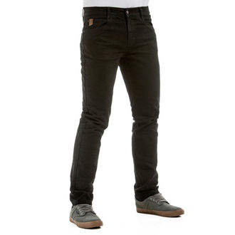 men's pants (jeans) MEATFLY - Riot 2 - 1/7/55, A - Black, MEATFLY