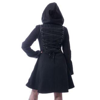 Women's coat Poizen Industries - MELINA - BLACK, POIZEN INDUSTRIES