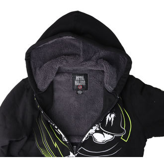 hoodie men's - FELON SHERPA - METAL MULISHA, METAL MULISHA