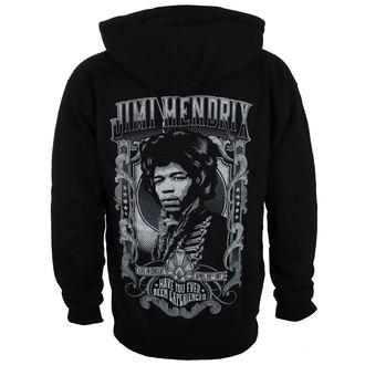 hoodie men's Jimi Hendrix - HENDRIX AUTHENTC - BRAVADO, BRAVADO, Jimi Hendrix