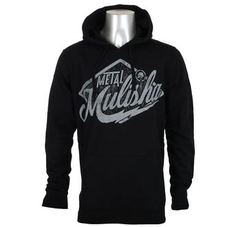 hoodie men's - GREASE - METAL MULISHA, METAL MULISHA