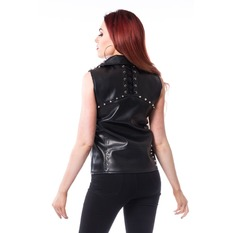 Vest Women Heartless - MIRA - BLACK, HEARTLESS