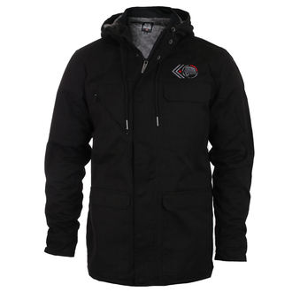 winter jacket - GRUNT SHERPA - METAL MULISHA - BLK_FA7502001.01