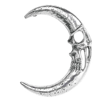 Ear cuff earring ALCHEMY GOTHIC - Moonskull, ALCHEMY GOTHIC