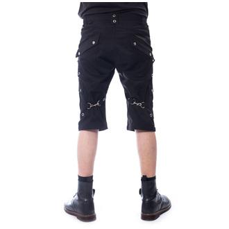 Men's shorts POIZEN INDUSTRIES - MUNICH - BLACK - POI801
