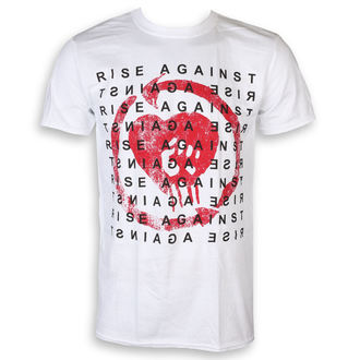 Men's t-shirt Rise Against - Block - White - KINGS ROAD, KINGS ROAD, Rise Against