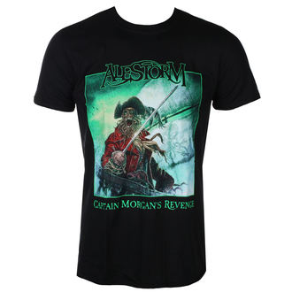 t-shirt metal men's Alestorm - Captain Morgan`s Revenge – 10th Anniversary Editio - NAPALM RECORDS, NAPALM RECORDS, Alestorm