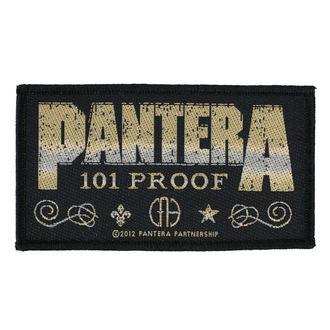 patch PANTERA - WHISKEY LABEL - RAZAMATAZ, RAZAMATAZ, Pantera