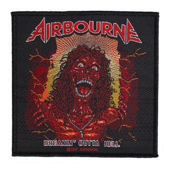 Patch Airbourne - Breakin Outa Hell - RAZAMATAZ, RAZAMATAZ, Airbourne
