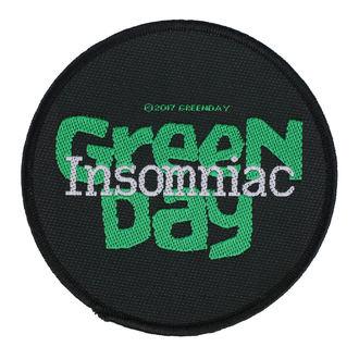 Patch Green Day - Insomniac - RAZAMATAZ, RAZAMATAZ, Green Day