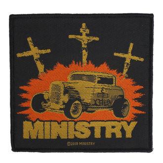 Patch Ministry - Jesus Built My Hotrod - RAZAMATAZ, RAZAMATAZ, Ministry