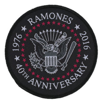 patch RAMONES - 40TH ANNIVERSARY - RAZAMATAZ