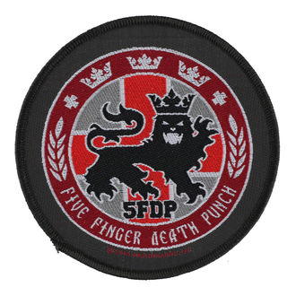 patch FIVE FINGER DEATH PUNCH - LEGIONARY SEAL - RAZAMATAZ, RAZAMATAZ, Five Finger Death Punch