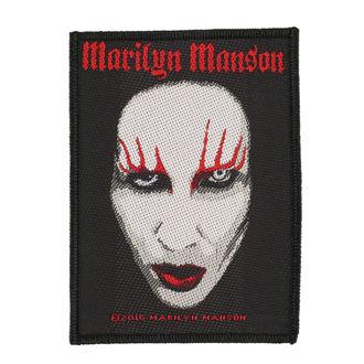 patch MARILYN MANSON - FACE - RAZAMATAZ - SP2889