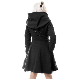 Coat women's VIXXSIN - NEW MOON - BLACK, VIXXSIN