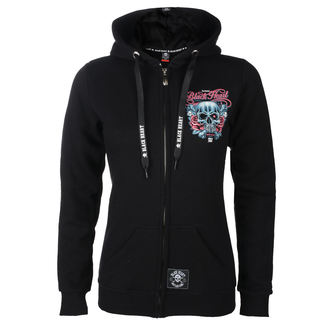 hoodie women's - BH HOLISTER - BLACK HEART, BLACK HEART
