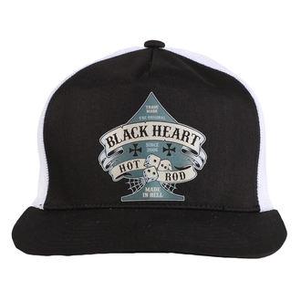 cap BLACK HEART - BELL - WHITE, BLACK HEART