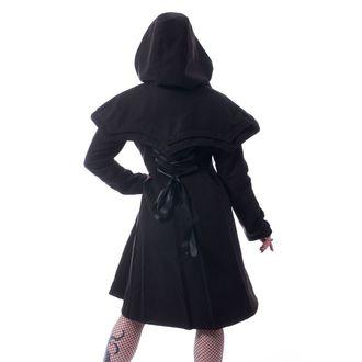 Women's coat  HEARTLESS - NIGHT FLIGHT - BLACK, HEARTLESS