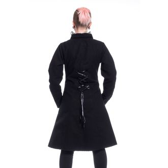 Women's Coat POIZEN INDUSTRIES - NIGHT PARADE - BLACK, POIZEN INDUSTRIES