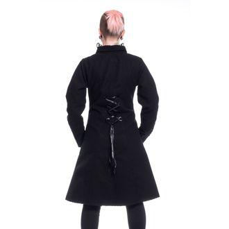 Women's Coat POIZEN INDUSTRIES - NIGHT PARADE - BLACK, POIZEN INDUSTRIES