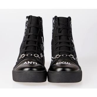high sneakers unisex - DISTURBIA, DISTURBIA
