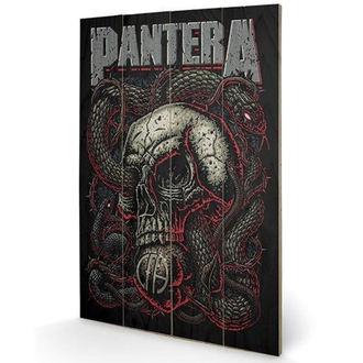 Wooden painting Pantera - (&&string0&&) - PYRAMID POSTERS, PYRAMID POSTERS, Pantera