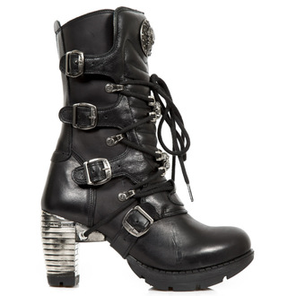 high heels women's - Itali, Nomada, Trail Negro Taco - NEW ROCK, NEW ROCK