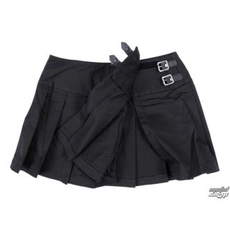 skirt women's Black Pistol - Buckle Mini Denim - Black - B-2-48-001-00