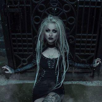 Women's dress KILLSTAR - IMOGEN - BLACK - K-DRS-F-2880