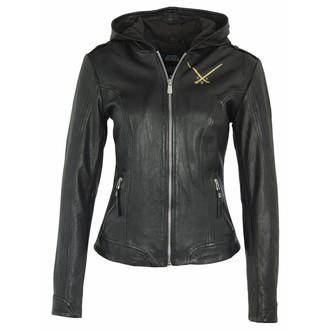 leather jacket women's Fantastic Beasts - BLACK -