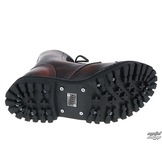 leather boots women's - - STEEL, STEEL