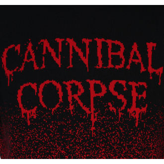 Sweater Men's CANNIBAL CORPSE - DRIPPING LOGO - PLASTIC HEAD - KU009KJ