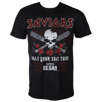 film t-shirt men's The Walking Dead - SAVIORS TOUR - PLASTIC HEAD, PLASTIC HEAD